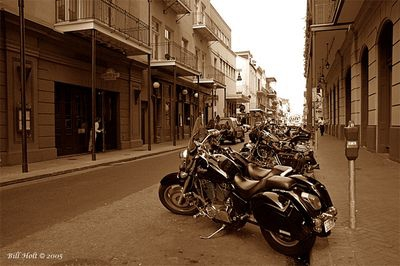 New Orleans Harleys