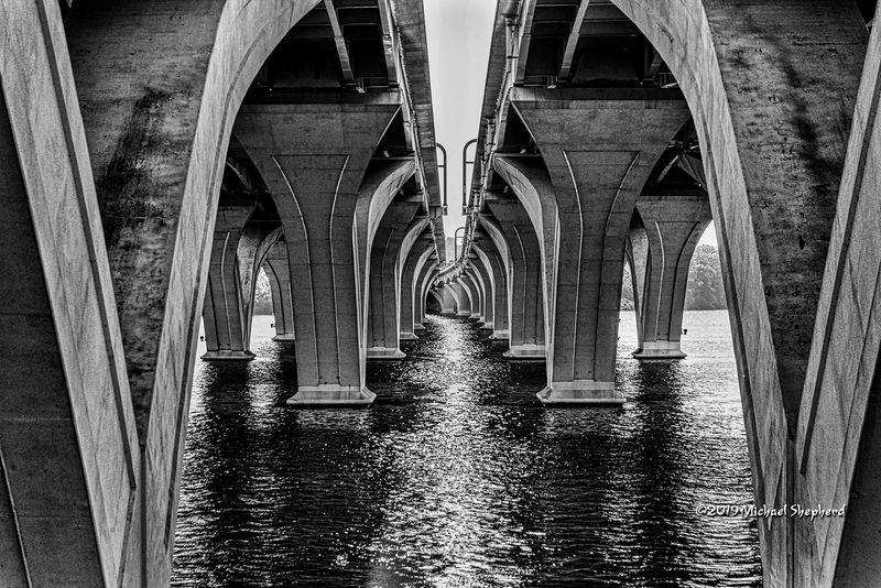 Under President Wilson's Bridge