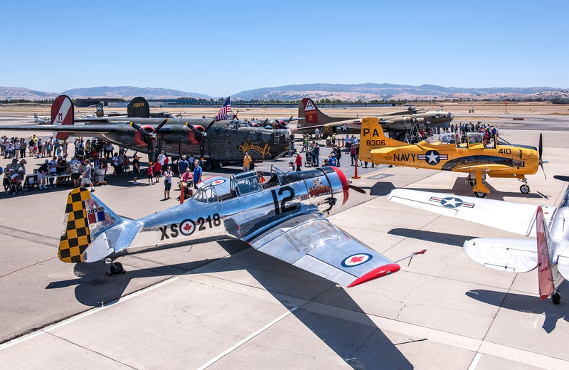 Livermore Fly-In, Five Airplanes