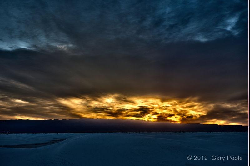 Sunrise from White Sands