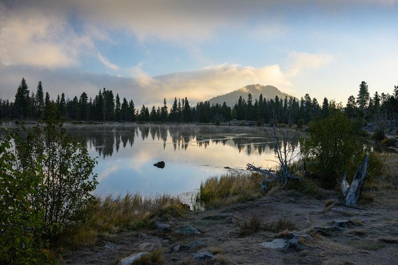 Sprague Lake at Dawn