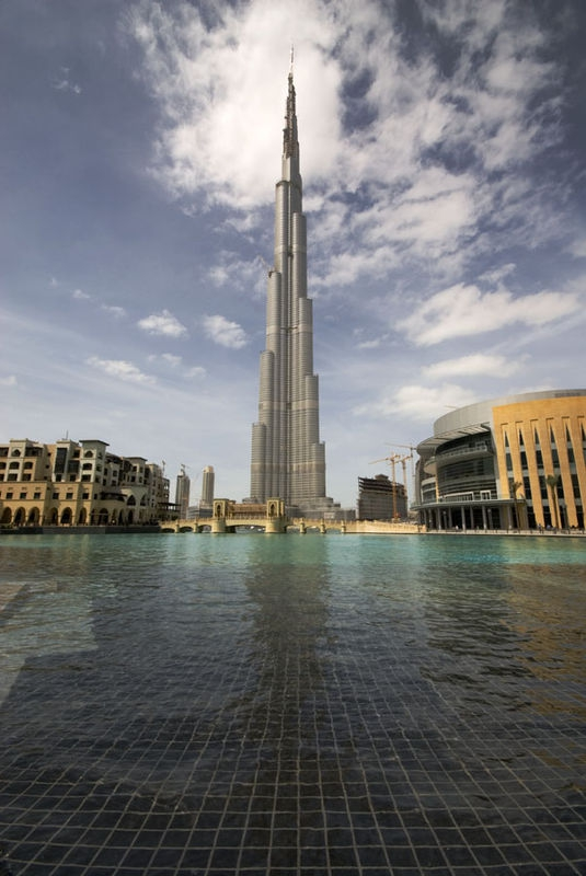 Burj Dubai - the world's tallest building