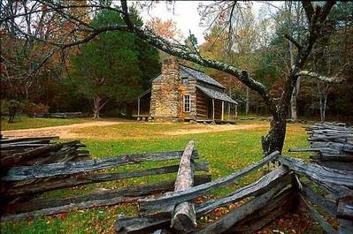 Cades Cove Early Cabin