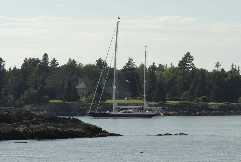 Sailboat - Frenchman's Bay, Bar Harbor, Maine