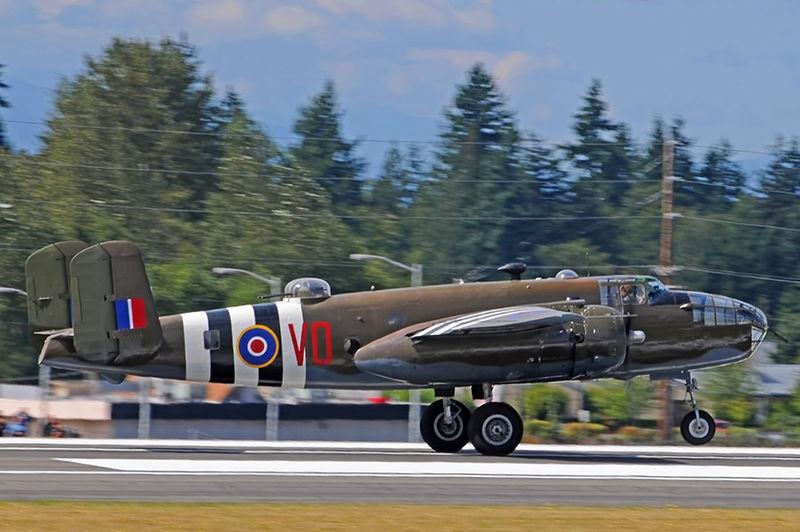"""North American B-25 """"Grumpy"""""""