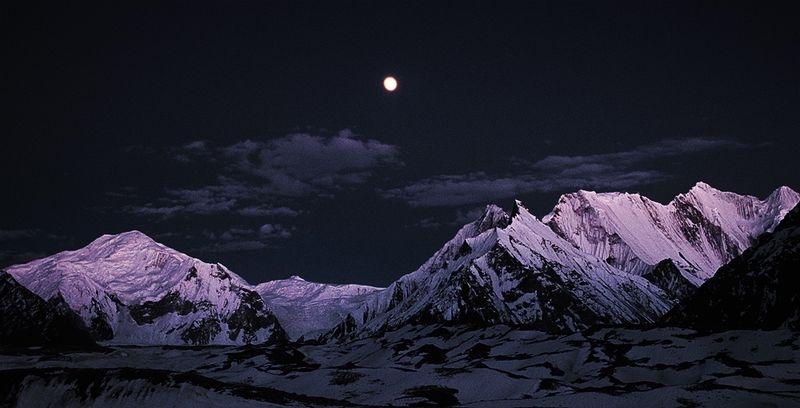 Mountain Moonrise Concordia