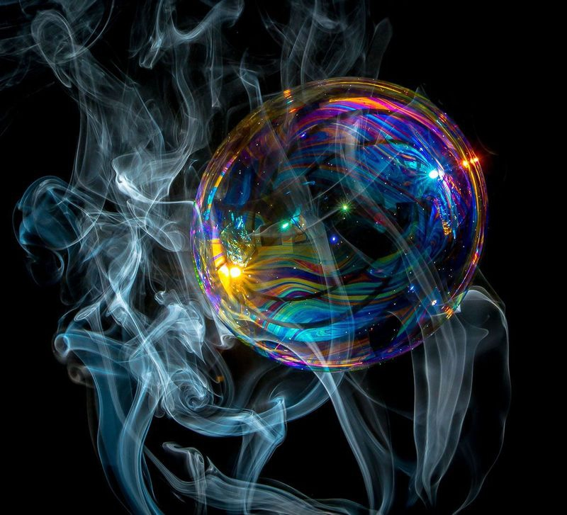 Bubble in Smoke II