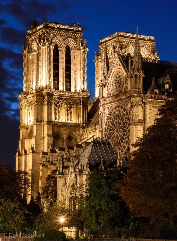 Blue Hour Notre-Dame