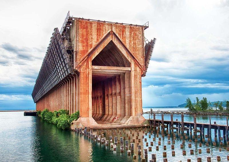 Retired Ore Dock