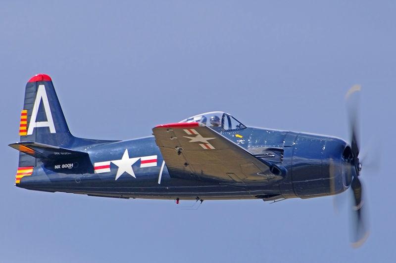 "Grumman F8F Bearcat ""Wampus Cat"""