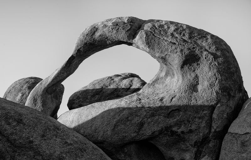 Mobius Arch in B&W