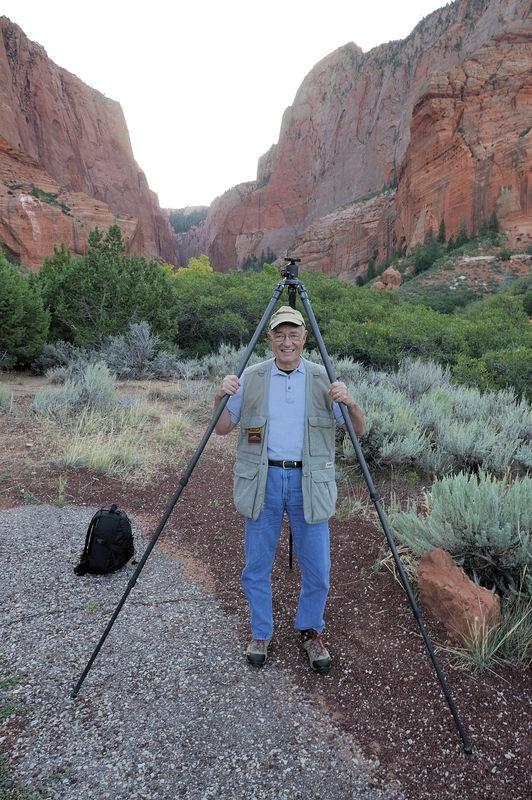 Rick Matheny (RHMJR2) under Albert's tripod