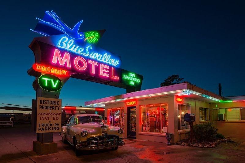 Blue Swallow Motel, Tucumcari