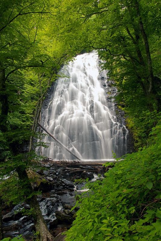 Crabtree Falls, Blue Ridge Mountains, N.C.