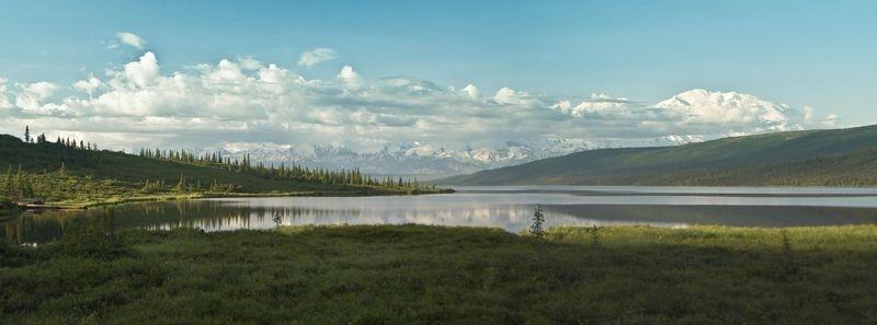 Wonder Lake and Denali