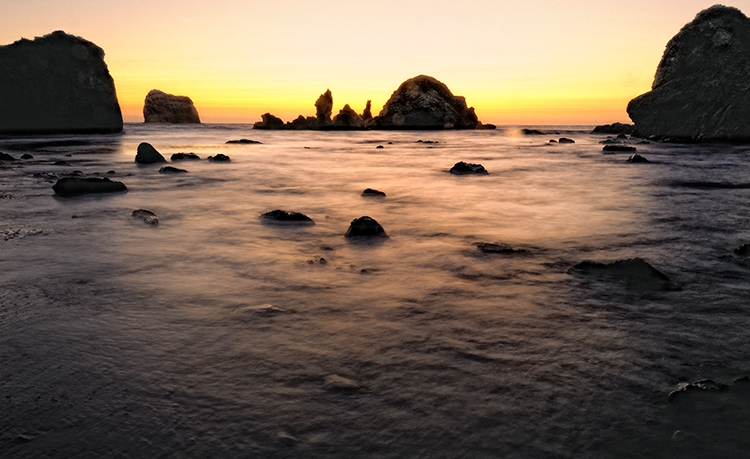 Sand Dollar Beach Sunset