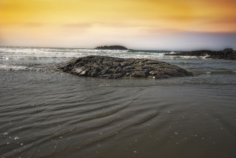 Sunset at Tofino Vancouver Island