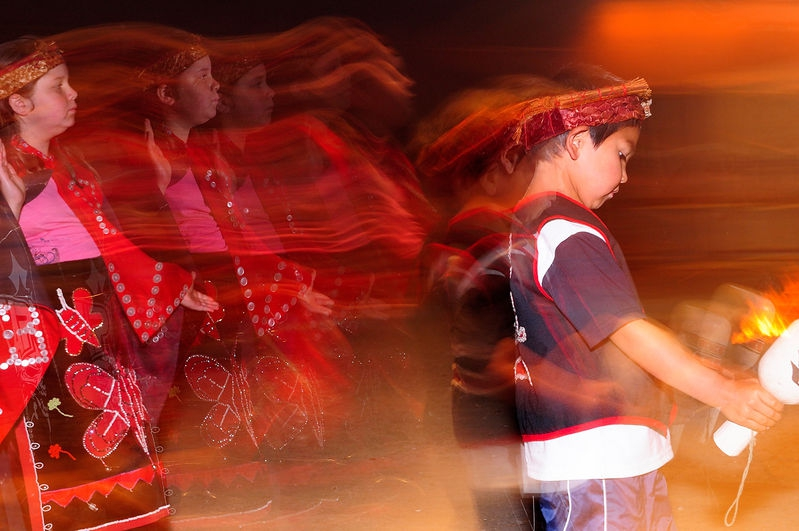 Native Dancers, Alert Bay, Canada
