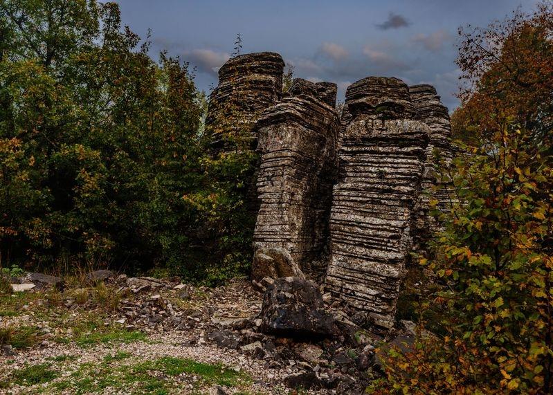 Stone Forrest in Greece