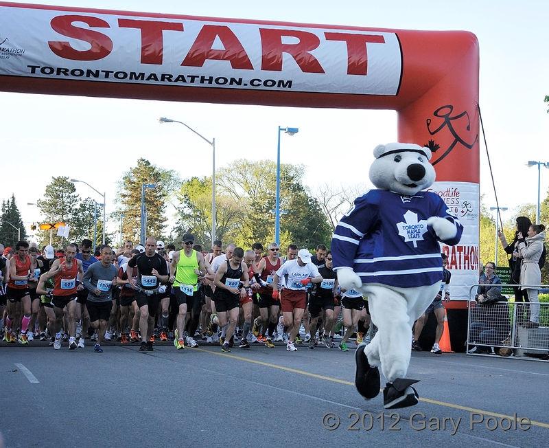 Marathon Mascot