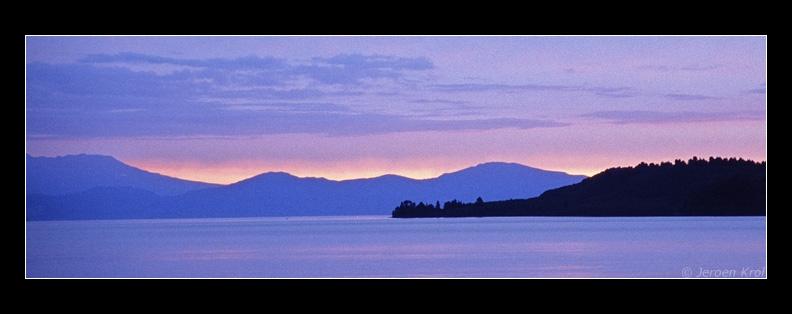 Lake Taupo @ Sunset