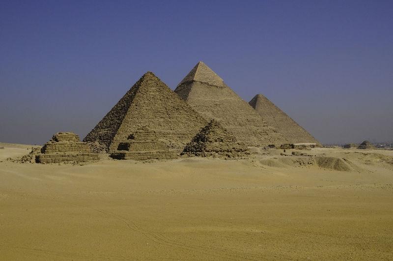 Pyramids at Geeza