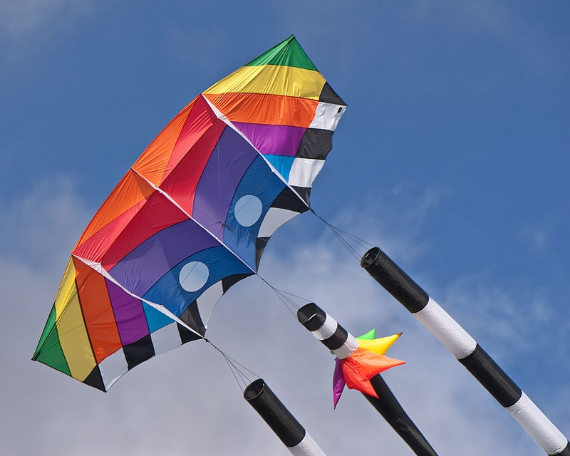 Sunday Afternoon in the Park, Kite Flying