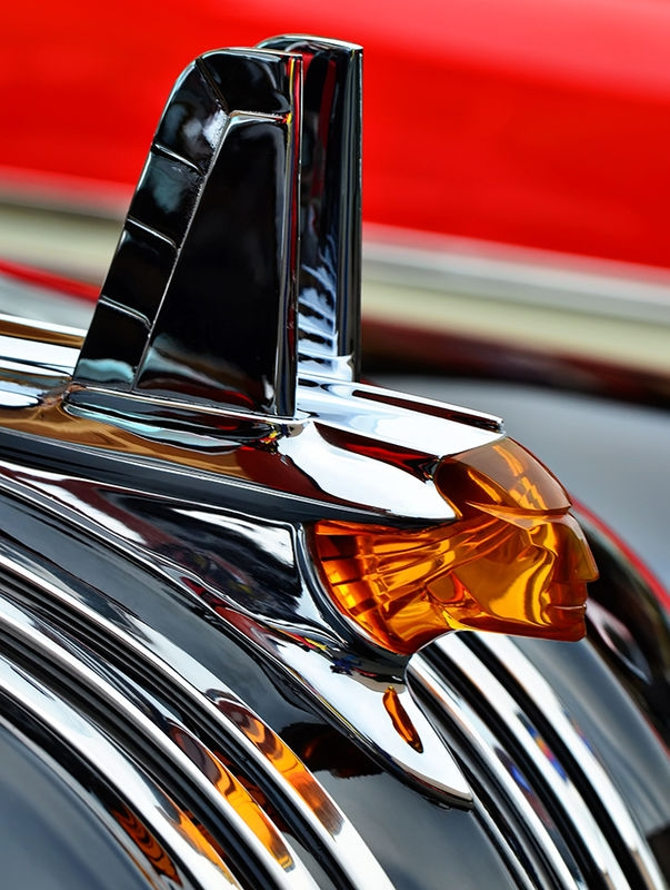 1953 Pontiac Chiefton Hood Ornament