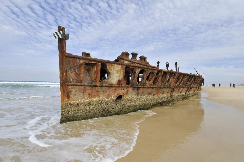Shipwreck - Fraser Island