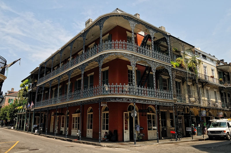 Royal St, in the French Quarter