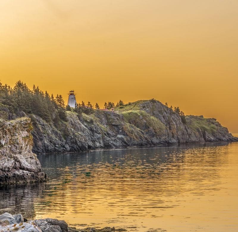 Swallowtail Light at Dawn