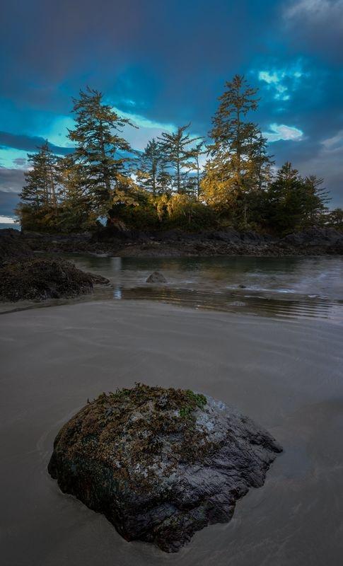 Sunrise, Tofino, Vancouver Island BC Canada