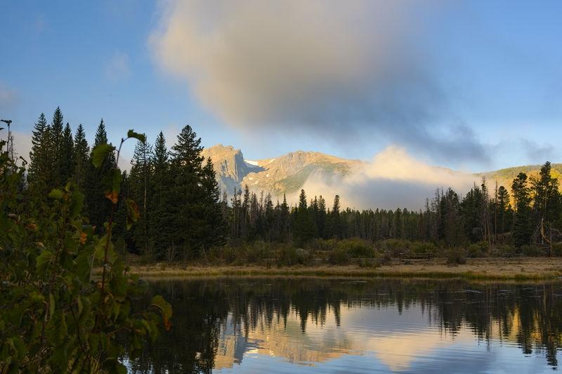 Dawn at Sprague Lake, Rocky Mountain National Park