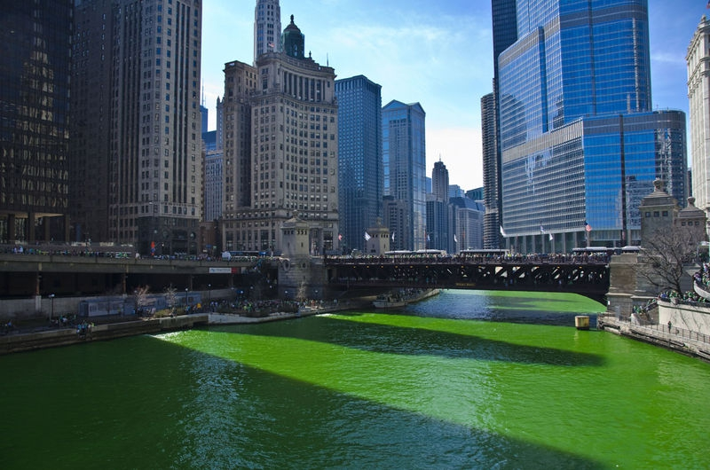 St. Patrick's Day, Chicago - 2012