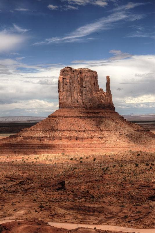 A Mitten in Monument Valley