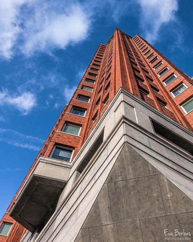 Skyscaper in Rotterdam