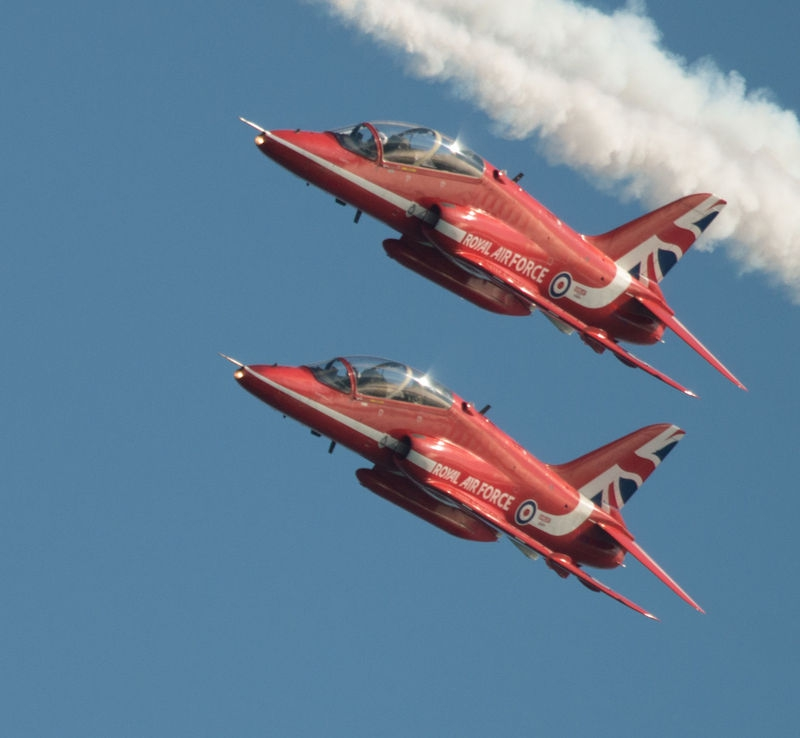 Red Arrows - Jersey International Air Display
