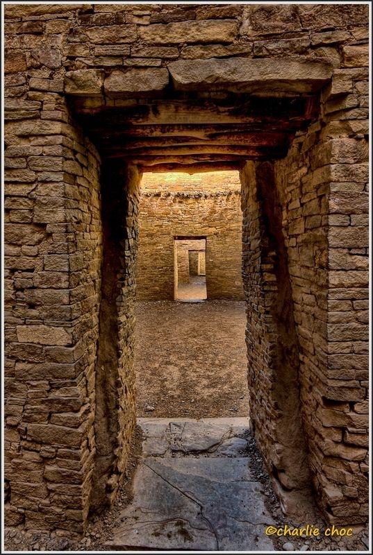 Chacoan doorways