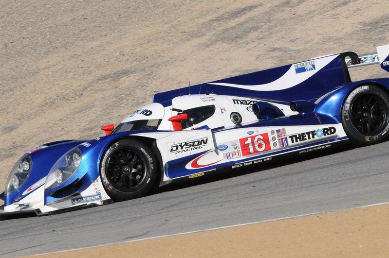 2013 ALMS; In the Corkscrew