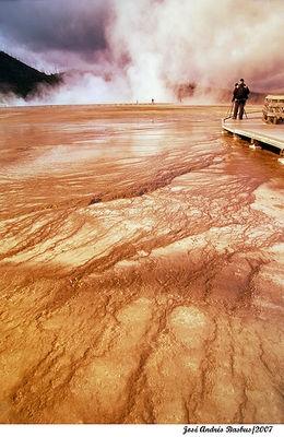 sulfur cauldron zone - Yellowstone (2)