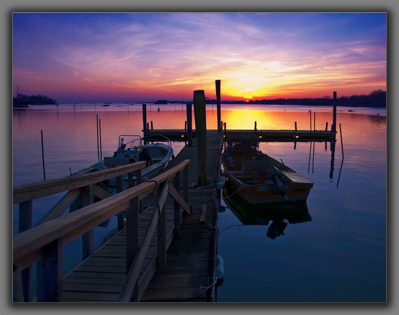 Thimble Island Sunset