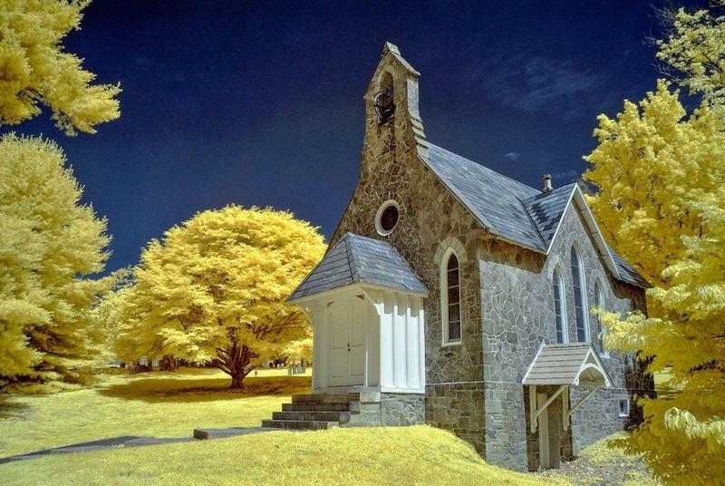 Warrington Church, Color Infrared