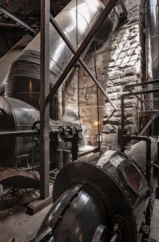 Folsom Powerhouse, Penstocks and Turbines