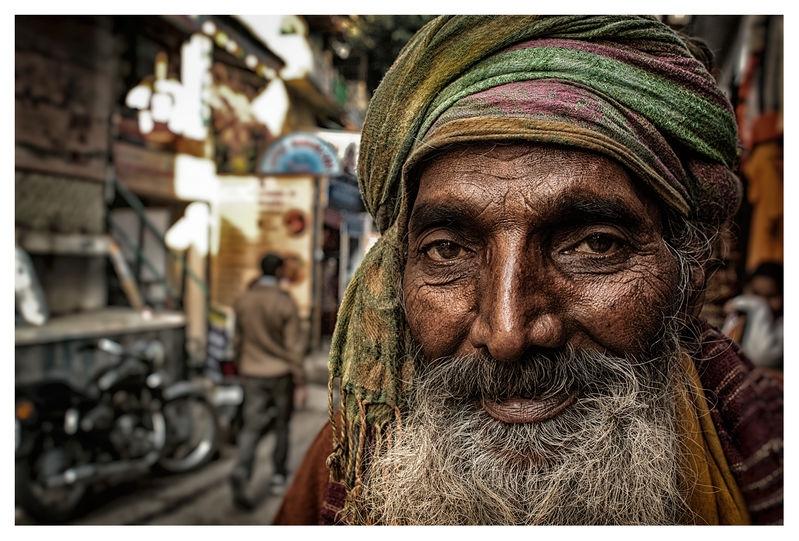 Sadhu in an Alley