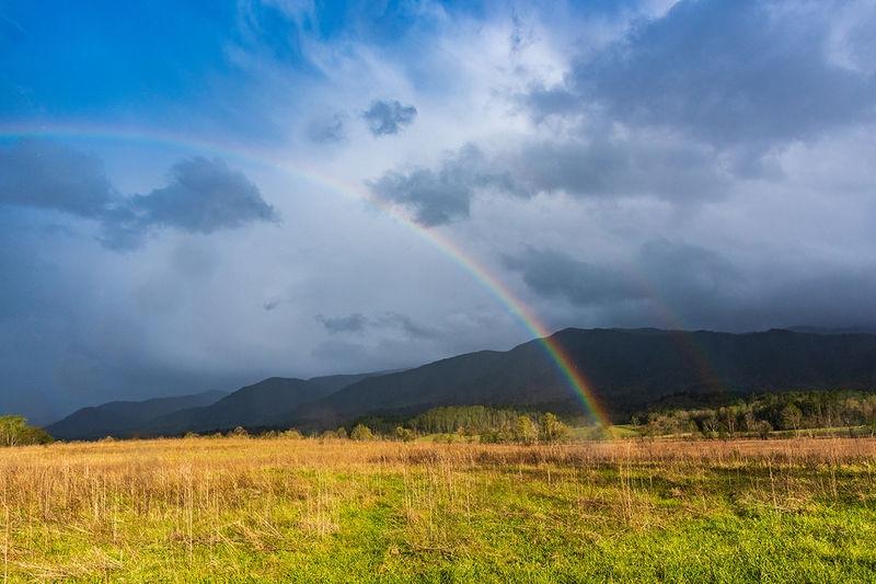 double rainbow r