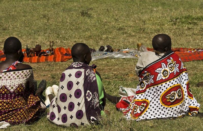 Masaai finery