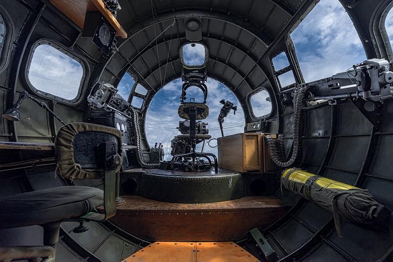 B-17 Bomber's Station