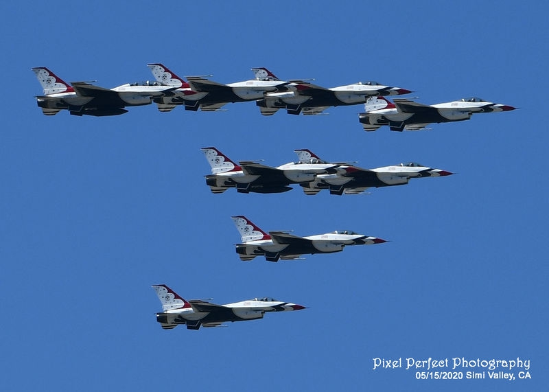 Salute to Healthcare Workers by the USAF Thunderbirds
