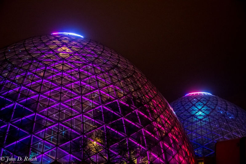 Milwaukee Domes at Night
