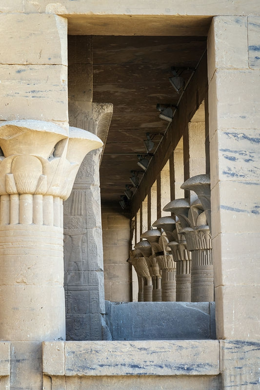 Temple of Isis, Philae, Aswan, Egypt